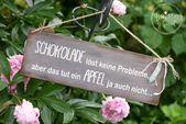 Schokolade löst keine Probleme 2   – Dagis Deko