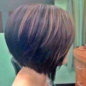 Haarschnitte Bob abgewinkelte Frisur für Frauen 37 Trendy Ideas