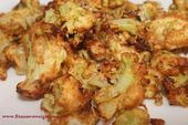 Crispy Air Fryer Cauliflower With Eggs And Bread Crumbs