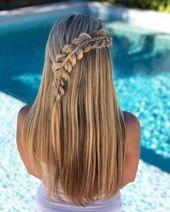 20 peinados de fiesta para cabello largo   – Die Frisuren der Frauen