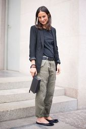 6 of the World's Most Fashionable Individuals Present Us The best way to Put on Cargo Pants Now