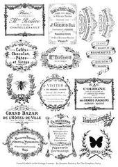 DIY Vintage Französisch recycelte Blechdosen Projekt & Free Printable!