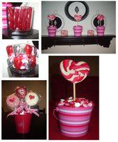 Dollar store Valentine's decor ideas. Link: www.inspiremecraf...