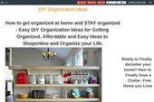 DIY-Organisationsideen (nach Häusern) Einfache, übersichtliche Ideen für die Organisation von Toda