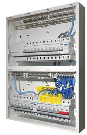 Hager High Integrity Duplex Consumer Unit Populated With A Mains Isolator Switch 2 Rcd S Residual Current Device Mcb S Miniat The Unit Consumers Integrity