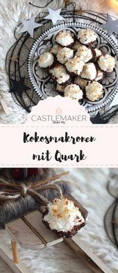 Rezept für sichere Kokosmakronen mit Quark – Tipps für Eischnee