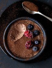 Geniale 2-Zutaten Mousse au Chocolat (ohne Ei)