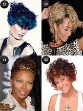 Tolle Haarfarben für kurze Haare – Frisurenmodelle   – Beliebte Frisuren