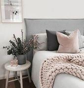 ▷1001+ conseils et idées pour une chambre en rose et gris chic