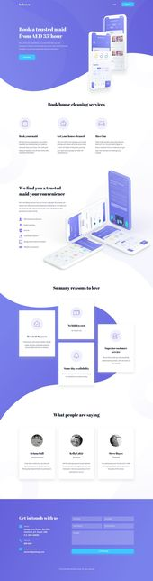 landing page design – Website desing