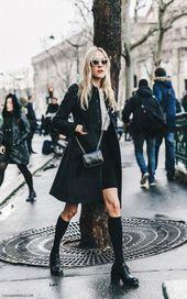 Moda Street Style Black Collage Vintage 18+ Ideas de moda   – Fall Fashion Ideas