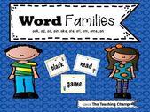 Wortfamilienaktivitäten 1 – Daily five