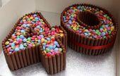 Tortas con números e ideas de postres para cumpleaños de un solo dígito   – Motiv-Food