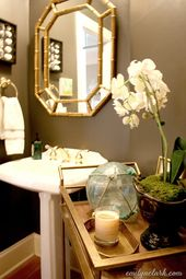(More) Powder Room Decorating