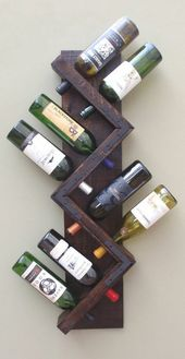 Build your own wine rack and store the wine bottles properly   – Do it yourself Ideen
