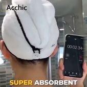 ?? Super wasserabsorbierender, schnell trocknender, 100% natürlicher Quick Magic Hair Dry Hat! ?? Muss >> brauchen – Great ideas