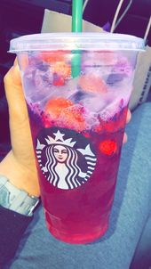 Mango Dragonfruit & Strawberry Açaí Refresher  – Starbucks