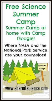 Free Science Activities For All with Camp Google! 2