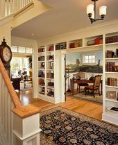 Verwenden Sie Bücher als Kunst mit diesen Bücherregal-Dekor-Ideen