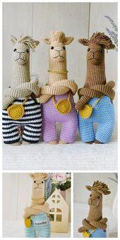 Amigurumi Cute Alpaca Free Pattern – FREE AMİGU…