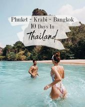 10-tägige Thailand-Reiseroute: Phuket – Krabi – Bangkok