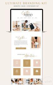 Cynthia // Websites, Blog, Social Media Bundle • WordPress Responsive