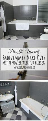 [Anzeige]  DIY: DIY: Bathroom Make Over – Einfaches Recyceln mit dem BEAUTIFUL …   – Alle DIYs von DIYCarinchen