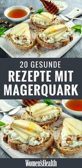 20 schnelle Magerquark-Rezepte