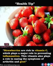 Strawberries Lowers Inflammation 1