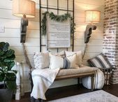 46 Rustic Farmhouse Living Room Design Decor Ideas