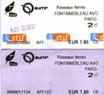 A Rer Ticket Is Known In Paris As A Billet Ile De France A Small