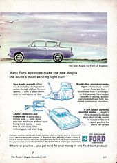 1960 World Wide Ford Companies Anglia By Ford Of England Page 2