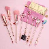 Sakura Makeup Brush Suit