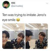 Ten is a big uwu with jeno