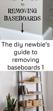 The diy newbie's guide to removing baseboards 1