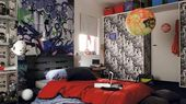 Le style graffiti pour une chambre d'ado pleine de caractère | Diaporama Phot…