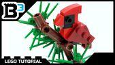 Wie man einen LEGO Weihnachtskardinal baut – YouTube   – Lego