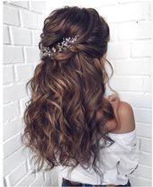 Long wedding hairstyles 2019