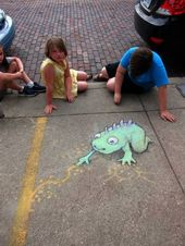 This 3D Chalk Art Takes Sidewalk Drawing To A Whole New Level  – Street art