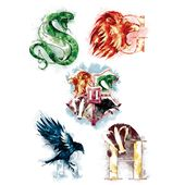 Harry Potter Temporary Tattoos (35 tattoos)