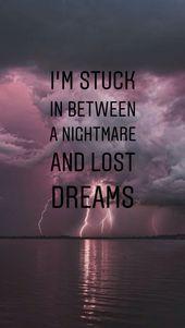 Ich bin es leid, von dir zu träumen. Nimm meinen Kopf raus, damit ich aufhöre, deinen Namen in meinem … – Tumblr bilder