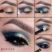 Ein Tutorial, um Ihre Augen professionell zu machen   – Make-up Ideen