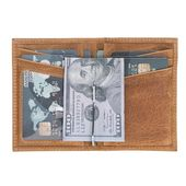 Genuine Leather Credit Card Wallet, Custom Card Holder, Engraved Monogrammed Per…