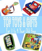 Photo of Best Gifts for 3 Year Old Boys in 2017
