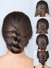 Knotted braid