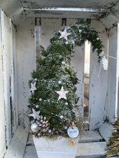 Nadelhüte ~ Tolle Winterdekoration ~ mit LED-Lichterketten   – Advent