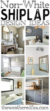 Awesome Non-White Shiplap Decorating Ideas That Work With Any Style