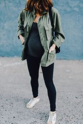 best pregnancy leggings! #bumpstyle