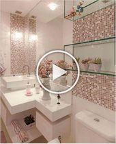Photo of ↗45 Raumdekor-Designs für Badezimmerdekor-Ideen, die komfortabel und illu …