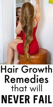 Wollen Sie dichtes und langes Haar bekommen, versuchen Sie dies   – Beauty